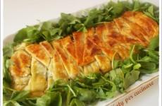 Pasta sfoglia con spinaci e stracchino