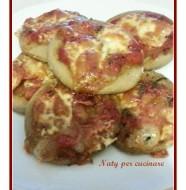 pizzette integrali con lievito istantaneo